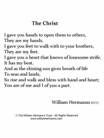 The Christ by William Hermanns