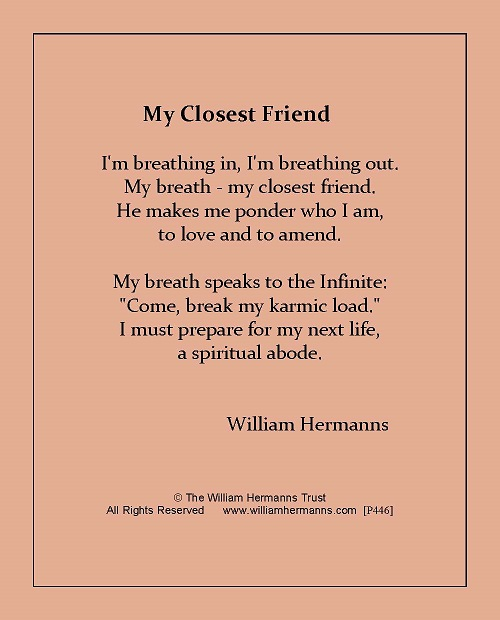 My Closest Friend by William Hermanns